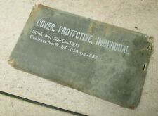 """""""Cover,Protective,Individual"""" US WW2"""
