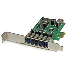Startech.com 7-port Pci Express Usb 3.0 Card - Standard And (pexusb3s7)