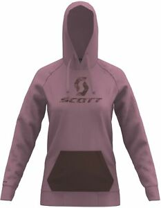 Scott 10 Icon Womens Cycling Hoody - Pink