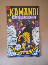 KAMANDI n°8 Edizione Corno [SP17] MEDIOCRE - DIFETTATI