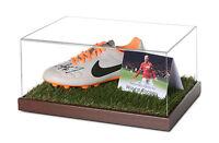 Wayne Rooney Signed Football Boot Display Case Man Utd Autograph Memorabilia COA