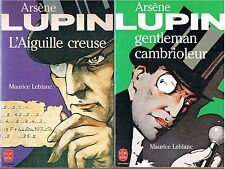 LEBLANC / ARSENE LUPIN Gentleman + L'aiguille creuse + PARIS POSTER GUIDE