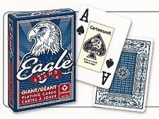 1-Deck Of Cartamundi Giant Face Playing Cards~Red OR Blue~Fun For The Family~WOW