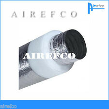 "R 1.0 -  6"" / 150mm Flexible insulated Fan Duct -Ducting - Flex"