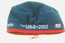NWT US OLYMPIC WINTER TEAM 2002 - ROOTS Beanie Cap One Size Fits all NEW #GW546