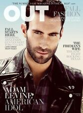 OUT Magazine Adam Levine Maroon 5 American Idol The Voice Anna Faris Tom Cullen