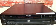 USED Sony 5 DVD CD Carousel Changer DVP-NC600 NO REMOTE  Works