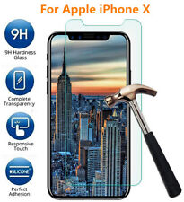 3pcs Premium Real Tempered Glass Screen Protector for Apple iPhone X 8 7 6 Plus iPhone 5 (3 Pack)