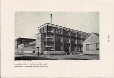 1950s Print GROPIUS & MEYER Architects Benscheidts Fagus Factory ALFELD GERMANY