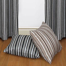Polyester Striped Modern Decorative Cushions