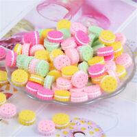 15mm Assorted Mini Resin Sandwich Biscuits Cabochons DIY Jewellery Charms 30 pcs
