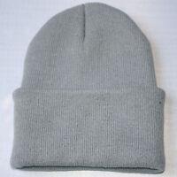 Unisex Knitting Cap Hats Slouchy Knitting Beanie Hip Hop Cap Warm Sports Hat H-M