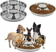 3Pcs Puppy Feeding Bowls for Litters Dog Pet Food Water Weaning Dishes Feeder
