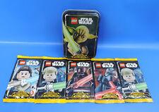 Lego Star Wars Caja de Lata Yoda Cartas Coleccionables Aumentador Presión +