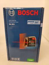 Bosch 30 Ft Self Leveling Cross Line Laser Level New Gll 30 S