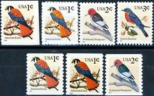 Birds Definitives Set 7 Different Scott's 3031 3031A 3032 3033 3044 3044A 3045