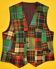 """Chipp Patch Tartan Gent's Waistcoat"" Sz: 38R"