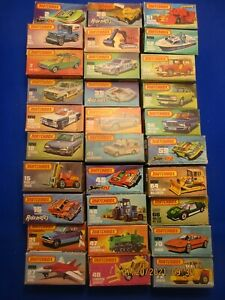 """MATCHBOX """"SUPERFAST"""" LOT IN BOXES THIRTY (30) PIECES #2"""