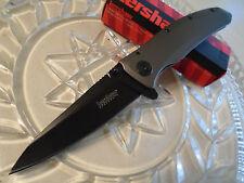 Kershaw Grid Speed Safe Assisted Open Pocket Knife Folder 2200 8Cr13MoV Tini