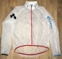 CUBE rare mens transparent long sleeve cycling jersey Windstopper Jacket size XL