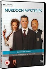 Murdoch Mysteries  Complete Series 4 [DVD] [2011]
