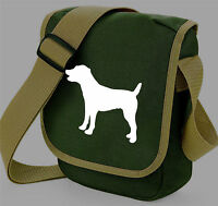 Jack Russell Bag, Terrier Shoulder Bags Birthday Xmas Gift JRT Dog Walkers Bag
