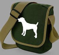 Jack Russell Bag, Terrier Shoulder Bags Birthday Xmas Gift JRT Dog Walkers Bag