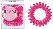 INVISIBOBBLE THE TRACELESS HAIR RING BRACELETS 3 PCS IN PACK - CANDY PINK