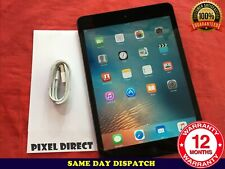 Grado a Apple iPad Mini 1 16GB, Wi-fi Celular (Desbloqueado) 7.9in Negro-ref 123