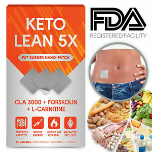 Keto Diet Pills Weight Loss Appetite Suppressant Slim 30 Patches