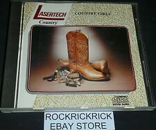 COUNTRY GIRLS (LASERTECH COUNTRY) -16 TRACK RARE CD- 932D SANDY POSEY,PATTI PAGE