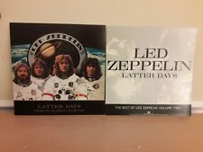 Led Zeppelin Latter Days Poster 2-Sided Flat Square 1999 Promo 12x12 Set -Mint!