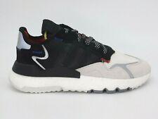 Adidas X 3M NITE JOGGER EF9419 Men's Size 12 Shoes Crystal White Reflective