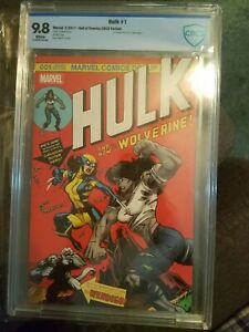 CBCS 9.8 Hulk #1 by Ed McGuinness Variant  (181 homage) X-23 NM/MT (not CGC)