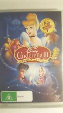 Cinderella III - A Twist In Time [DVD] NEW & SEALED, Region 4, FREE Next Day Pos