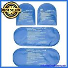 Ice Packs For Feet Cold Therapy Socks (4-Piece Set) Replacement Small Ice Packs