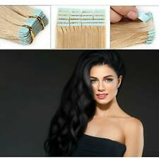 Pretty Advanced Fit Tape In THICK Glue Full Head 100% Remy Human Hair Extensions