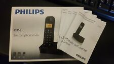 PHILIPS D150 MANUALE D'USO CORDLESS.