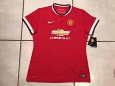 NWT Authentic NIKE  Manchester United 2014  Soccer Jersey Women's Large