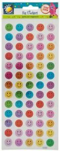 Smiley Happy Faces Sticker Sheet by Craft Planet