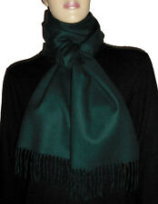 Luxe Oh` Dor 100% Cashmere Shawl Scarf Luxury Classic Penelopé Green