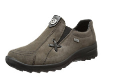 Rieker Women's L7171 Loafer Flats- Grey UK 6.5 EU 40 JS42 51