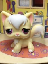Authentic Littlest Pet Shop Lps #364 Banana Yellow Angora Longhair Cat