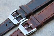 Handmade Watch Strap Genuine Calf Leather Durable Stitch 20mm 22mm