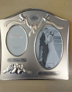 IMPRESSIONS By Juliana 30th (Pearl) Anniversary Photo Frames.. NEW With Box..