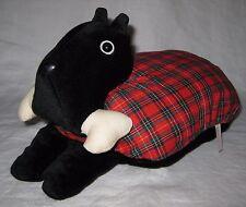 Scottie Scottish Scotty Terrier Dog Massage Pillow Vtg Avon Plush Hard to Find