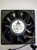 New Delta PFC1212DE 12038 120x38mm Extreme High Speed PWM Fan DC12V 4.8A 4-Wire