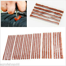 50 Pcs New 5X100mm Car Truck Tubeless Tire Tyre Puncture Repair Kit Strips Plug