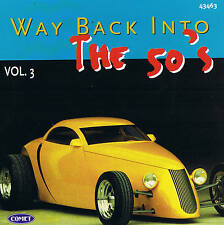 """Way back into the 50's """"VOL. 3"""" CD 16 Tracks Nuovo & Ovp Top Oldies"""