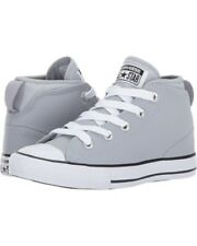 8ea28d1dea79 Converse Kids Chuck Taylor All Star Syde Street Leather Mid Little Kid Big  Kid 4